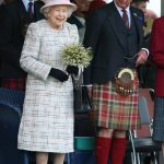 A smiling Queen was joined by Prince Charles right at the Scottish villages historic event