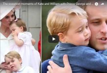 AWWW! The sweetest moments of Kate and William with Prince George and Princess Charlotte