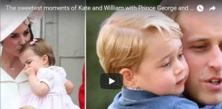 AWWW The sweetest moments of Kate and William with Prince George and Princess Charlotte