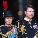 After divorcing from Captain Phillips Princess Anne married Commander Timothy Laurence Photo C GETTY
