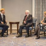At a meeting with outgoing Governor General David Johnston and his wife Sharon Harry said Toronto had become a home away from home