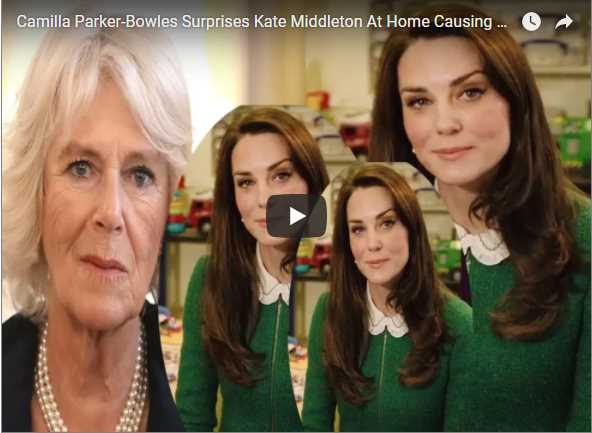 Camilla Parker Bowles Surprises Kate Middleton At Home Causing Charles And William To Fight