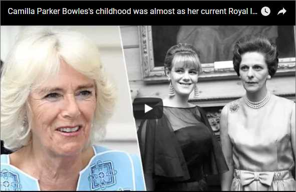 Camilla Parker Bowless childhood was almost as her current Royal life