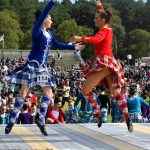 Dancers at the Braemar Highland Gathering