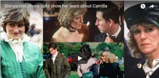 Dianas last phone calls show her fears about Camilla