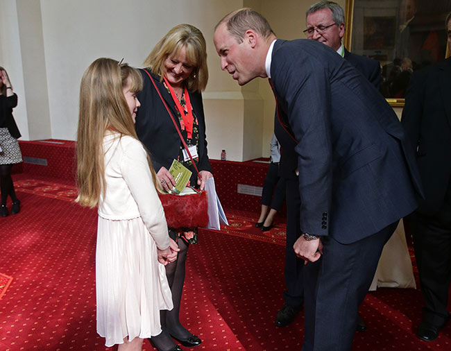 Prince William also warned her Never ride a motorbike before admitting that he rode one himself Photo C GETTY IMAGES