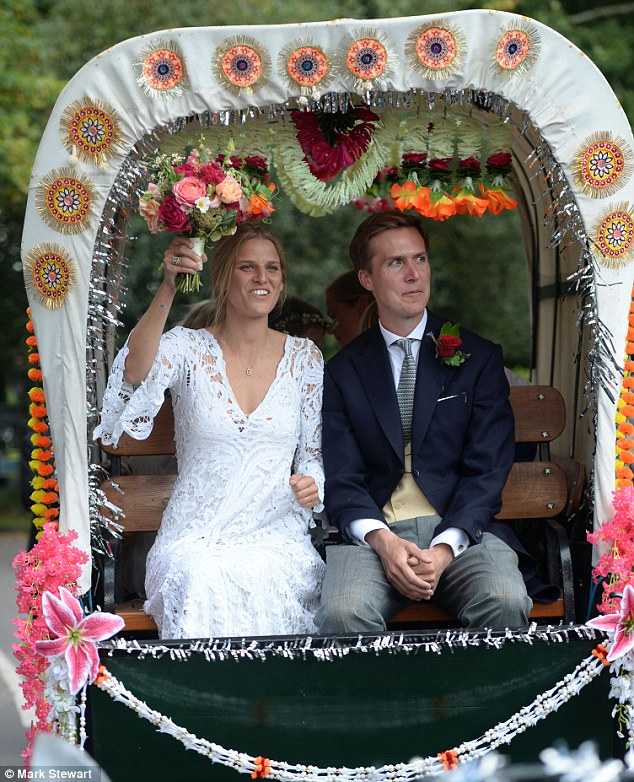 Glamorous Princess Beatrice Attends Her Aunt Eliza's