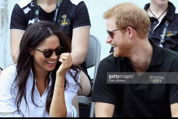 Prince Harry and Meghan Markle photo (C) Getty Images