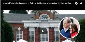 FIRST TIME Inside Kate Middleton and Prince William's private family home Kensington Palace