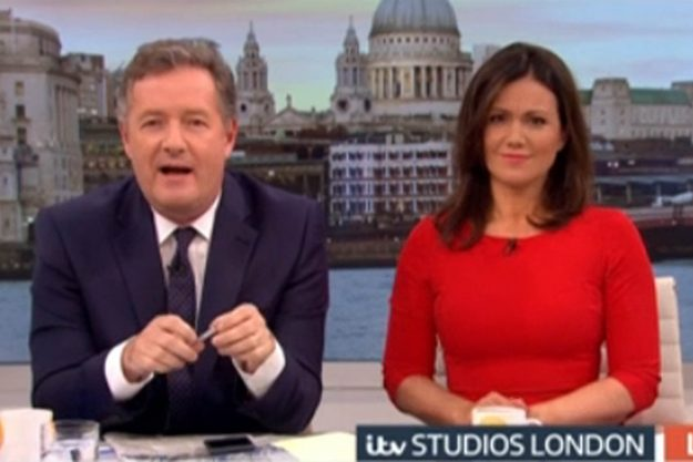 Good Morning Britain Meghan Markle fans have slammed Piers Morgan for his vulgar comments about the star ITV