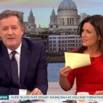 Good Morning Britain Susanna told Piers off as viewers at home slammed the host ITV