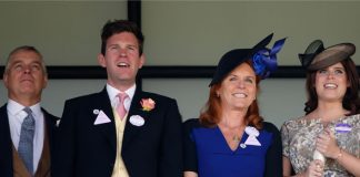 Happy family Prince Andrew and Sarah Ferguson are over the moon Photo (C) GETTY