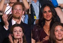 Harry and Meghan were seated some 50 metres away from each other Photo (C) GETTY IMAGES