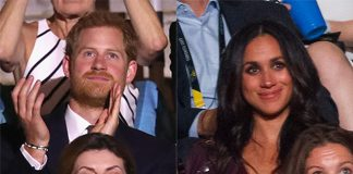 Harry and Meghan were seated some 50 metres away from each other Photo C GETTY IMAGES