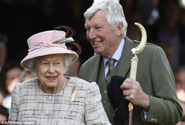 Her majesty looked in good spirits at the gathering, which since 1848 has been regularly attended by the reigning Monarch
