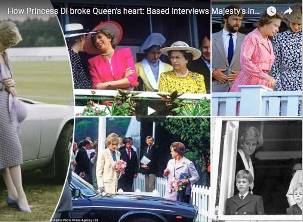 How Princess Di broke Queens heart Based interviews Majestys inner circle reveal the truth