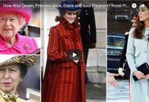 How Was Queen, Princess Anne, Diana and Kate Pregnant