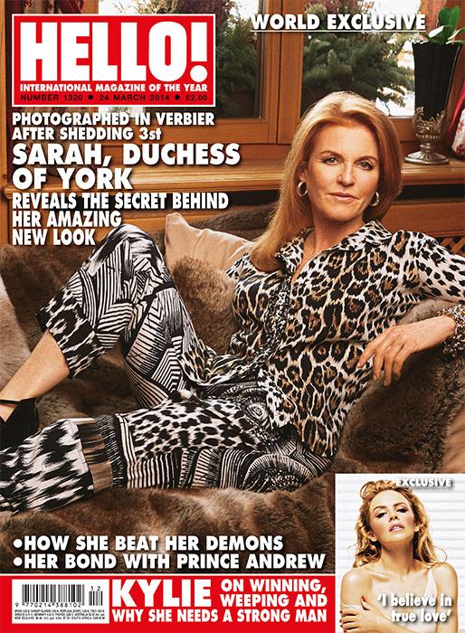 I'd never seen her look so confident or radiant recalls Juliet Herd Photo (C) HELLO MAGAZINE
