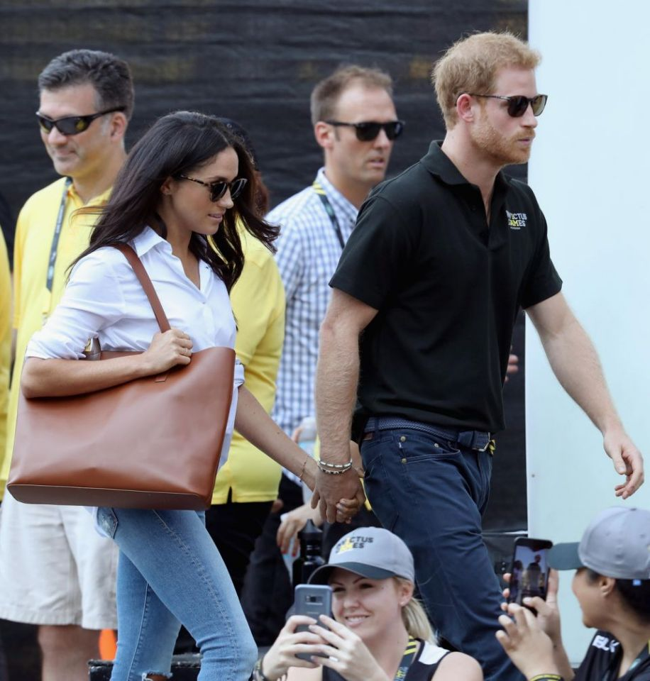 """It is not right that a few months into a relationship with him that Ms. Markle should be subjected to such a storm Photo (C) GETTY IMAGES"