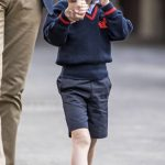 It marks 30 years since Diana dropped William off at his first day at school Photo C PA