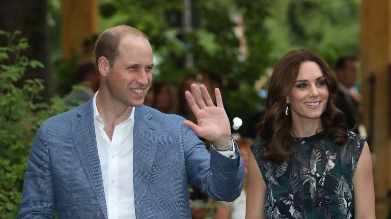 It was widely thought the baby was expected to arrive sometime in April 2018 Photo (C) GETTY IMAGES