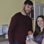 Jamie and Alicia Savory with baby Dexter Photo C BURTONMAIL CO UK