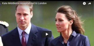Kate Middleton Hospitalized In London