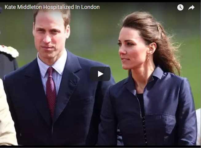 Kate Middleton Hospitalized In London