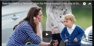 "Kate Middleton a ""Normal"" Mom for Prince George's First Day of School"