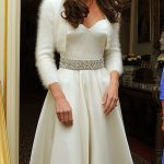 Kate Middletons second wedding dress was custom made by the same designer Photo C GETTY