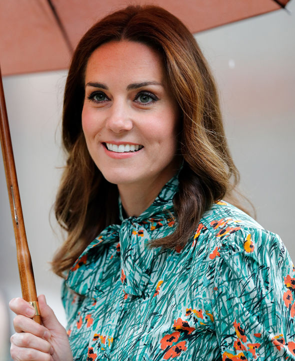 Kate has been struck down by severe morning sickness Photo C GETTY