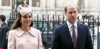 Kensington Palace confirmed the news Kate and William were expecting their third child earlier this month Photo (C) GETTY
