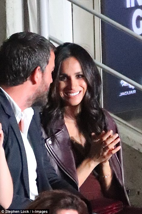 Meghan Markle appeared at the Invictus games opening ceremony on Toronto on Saturday night