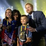 Michelle Obama attended the sporting event in Orlando in 2016 Photo C Chris Jackson Getty Images for Invictus