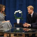 Mrs Trump is leading the US delegation at the Invictus Games in her first solo foreign trip and the first known meeting of a member of the royal family
