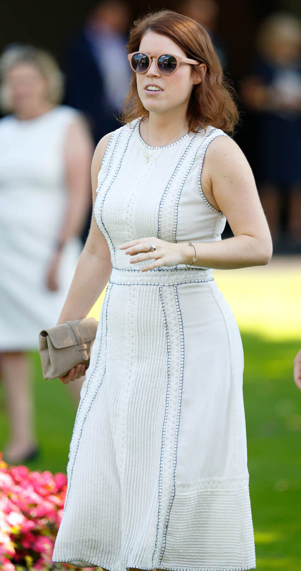 Palace officials discussed plans for Eugenie to move into the Ivy Cottage at Kensington Palace Photo (C) GETTY