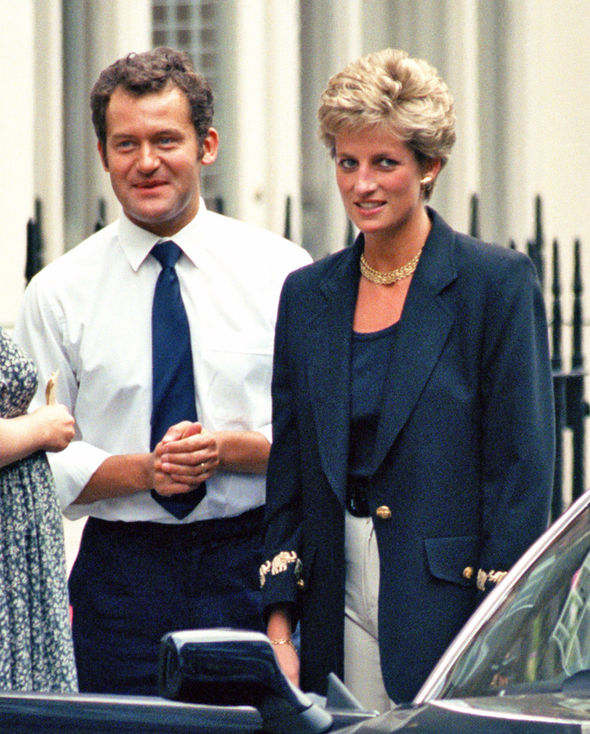 Paul Burrell with Princess Diana Photo C WENN