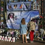 People have gathered in London to remember Princess Diana Photo C AFP