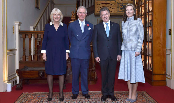 Prince Charles and Camilla want to remain in Clarence House where they also host visiting royals Photo (C) GETTY