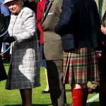 Prince Charles second from right and Princess Anne right all attended the Gathering