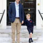 Prince George's official first day of school portrait has been released Photo PA