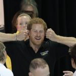 Prince Harry had plenty to say as he spent time at the training session in the Pan Am Session in Toronto