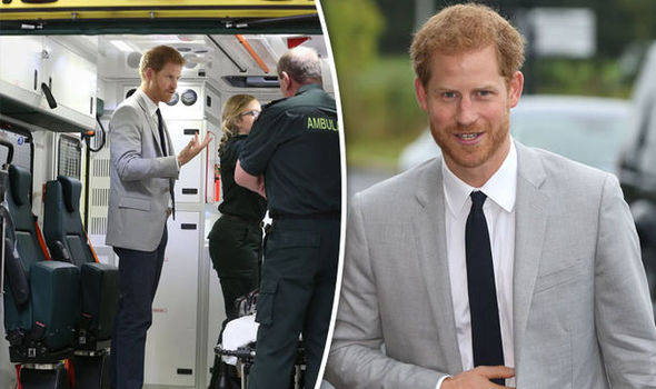 Prince Harry is making his first ever official visit to Northern Ireland Photo (C) PA