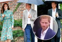 Prince Harry was asked by reporters what he thought of the pregnancy news Photo (C) GETTY, EXPRESS
