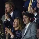 Prince Harry was on the edge of his seat as he watched athletes fill the stadium. It is the third year for the sporting event which he launched in 2014