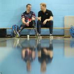 Prince Harry went around the training session at one of the Invictus venues where he spent time with some of the 550 athletes taking part