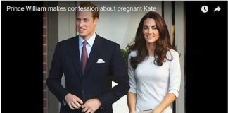 Watch Video Prince William makes confession about pregnant Kate