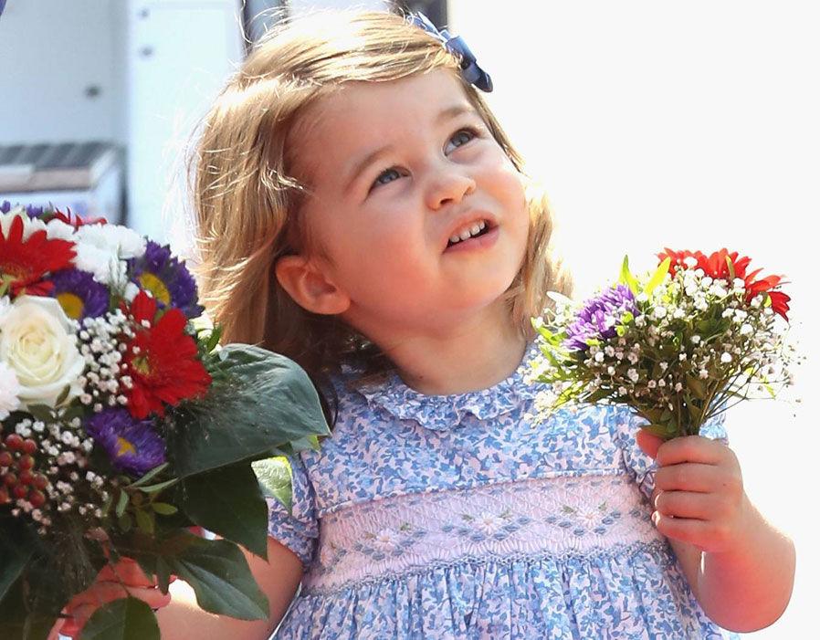 Princess Charlotte in Berlin Photo (C) GETTY