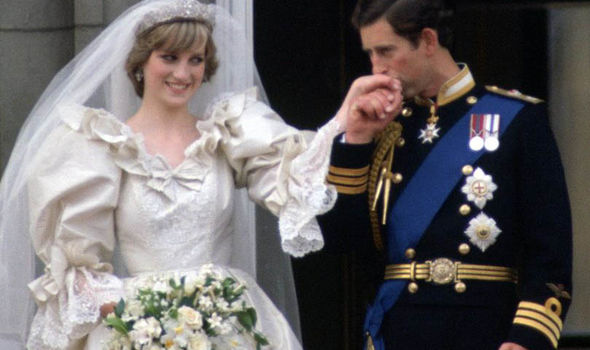 Princess Diana and Prince Charles were divorced a few years later Photo (C) GETTY