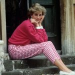 Princess Diana kept her look consistent Getty